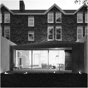 House extension, London, Copper, Architecture, TriLight